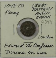 C344 England, Anglo Saxon, AR Penny of Edward the Confessor, 1048-50 D