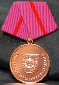 East Germany: Civil Defense 10 Year Service Medal
