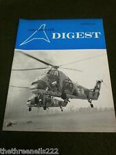 AIR BRITAIN DIGEST - NOV 1967 - FRENCH LIGHT AIRCRAFT