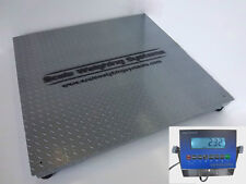3'x3' 5K NTEP-LEGAL FOR TRADE SHIPPING,PALLET,PLATFORM,FLOOR SCALE-LCD DISPLAY