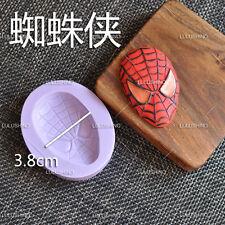 Superhero Logos Spiderman Silicone Cake Sugarcraft Fondant Soap Mold