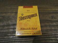 ancien paquet de cigarette AMSTERDAMER pour collection uniquement
