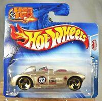 2004 Hot Wheels #176 Pride Rides CUNNINGHAM C4R Gold w/Gold 3 Spokes Short Card