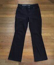 Coldwater Creek stretch Jeans Womens Sz 4 Natural Fit Boot Cut ~ Brown
