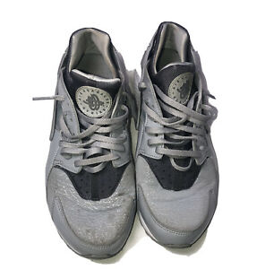 Nike Air Huarache Wolf Grey 634835-023 Shoes Sneakers Size 9.5