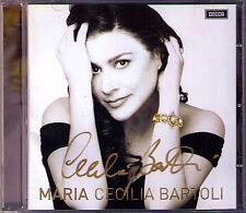 Cecilia BARTOLI Signiert MARIA Malibran VENGEROV Bellini Hummel Pacini Rossi CD