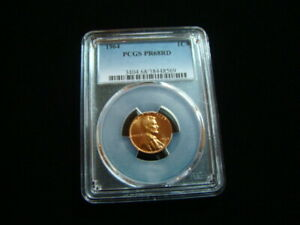 1964 Lincoln Cent PCGS Graded PR68RD