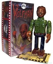 The Wolfman Robot Windup Japan Tin Toy Universal Monsters - Mint and Boxed New!