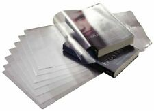 Book Covers: adjustable clear plastic covers for paperback/softcover books