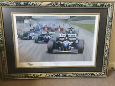 Gerald Coulson Limited Edition - David Coulthard - First Of The Grid