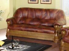 elegant Sofa 3 echt Leder Exclusiv