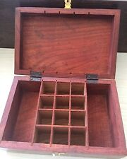 Aromatherapy Oils Box,Hold 12 10mL Bottles Wooden Storage With 2 Base Oils Side.