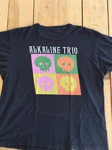 XL Alkaline Trio Shirt Chicago Punk Pop