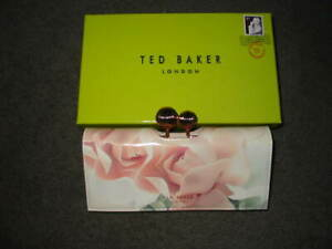 NEW IN BOX *** TED BAKER LONDON *** WALLET CLUTCH *** ROSES