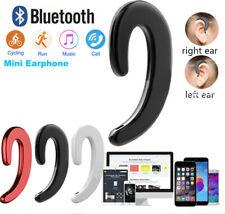 Wireless Bluetooth Bone Conduction Earhook Earphone Headphone Noise Cancelling