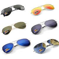 Men Women Pilot Polarised Sunglasses Ladies Large Classic B UV400 LA Glasses