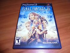 Final Fantasy XII (Sony PlayStation 2, 2006) 12 Used Complete PS2