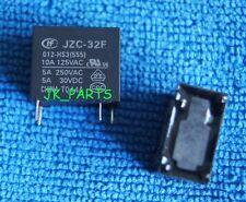 10pcs ORIGINAL 5V JZC-32F-005-HS3(555)  HF32F-005-HS3 SPST Hongfa Relay 4PIN