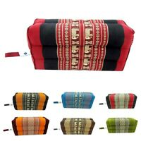 Thai Kapok Pillow Yoga Bolster Rectangular Spa Massage Block Meditation Cushion