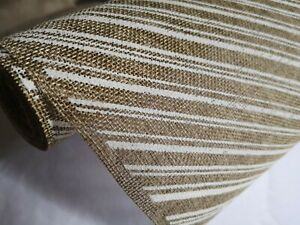 "Natural Printed Jute Fabric.1 yard (14"" x 39"")"