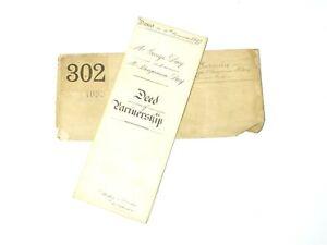 1897 SADDLERS & HARNESS MAKERS Partnership George & Benjamin Day Colchester #S2