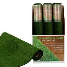 *SET of 3* Artificial TURF Grass Indoor Outdoor Rug Carpet  PETS 9.84ft x 3.28ft