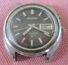vintage seiko bellmatic Alarm Automatic Watch 37 Mm 4006-7002  nice black dial