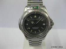 Mid Size Tag Heuer 4000 Stainless Steel Bracelet Grey Dial WF1211-K0 #985