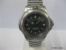 Mid Size Tag Heuer 4000 Stainless Steel Bracelet Grey Dial WF1211-K0 #985