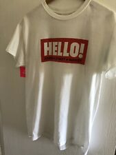 Dover Street Market Hello Collab Tshirt Size M