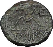 Pergamon Regal Coinage 282BC Athena Magic  & Bow Ancient Greek Coin i49672