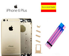 Chasis iPhone 6 Plus carcasa completa marco tapa trasera Apple plata blanco