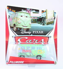 DISNEY CARS Radiator Springs FILLMORE 1:55 vw camper van diecast toy - NEW!