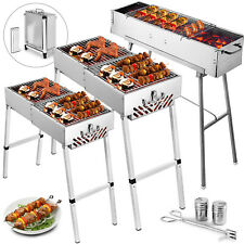 32'' Party Griller & 24'' / 32'' Folding BBQ Charcoal Grill Backyard BBQ outdoor