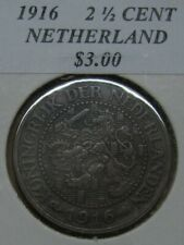 1916 Netherlands 2-1/2 Cent Take a Look