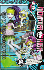 Monster High Spectra Vondergeist Sport ist Mord BJR13 NEU/OVP Puppe