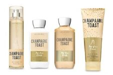 4 Pc Bath & Body Works Champagne Toast Set- Lotion, Mist, Shower Gel and Cream