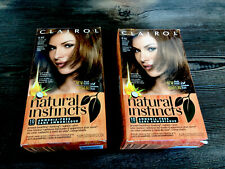2x Clairol Natural Instincts Hair Color 6.5G Lightest Golden Brown No Ammonia
