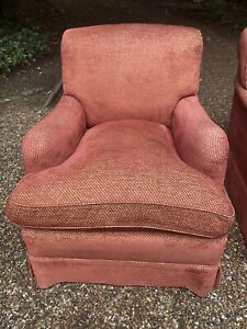 Beaumont & Fletcher - Pair of Howard style Armchairs