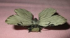 Antique Austria Vienna Bronze Cold Painted Moth Butterfly Sculpture Figure Rare