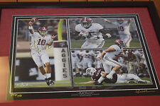 Field General signed AJ McCarron J Fowler V Sunseri Alabama Football autographs