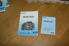 Canon EOS 450D Operation Manual Instructions for Use Manual Camera Photo