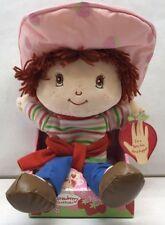 "Strawberry Shortcake ""Rag Doll"" Plush NIB 2003 Hand Puppet"