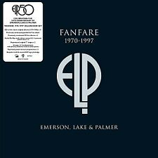 EMERSON LAKE & PALMER Fanfare 1970 - 1997 (new and sealed vinyl)