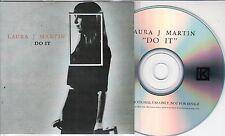 LAURA J MARTIN Do It 2016 UK 1-track promo test CD