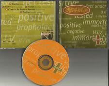SPEARHEAD MICHAEL FRANTI Positive LIVE & EDIT & INSTRUMENTAL PROMO DJ CD single