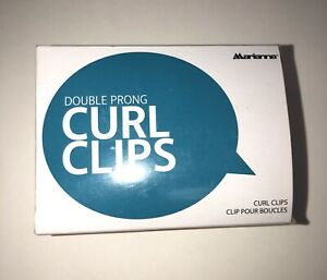 Marianna Double Prong Curl Clips - FREE SHIPPING - Beauty Hair Care Cosmetology