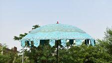 New Indian  100% Cotton Garden Umbrella Outdoor Mandala Patio Parasols Sun Shade