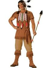InCharacter Men's Indian Brave Costume Fringe Cosplay Dress Up Fetish XL