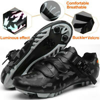 Camouflage Reflective MTB Cycling Shoes Men Mountain Racing Bike Bicycle Sneaker